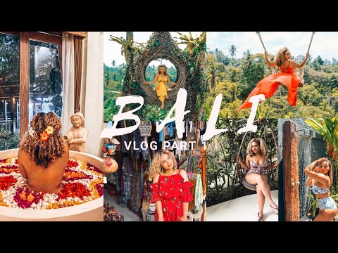 HELLO BALI | VLOG PART 1: UBUD Vlog Part 1