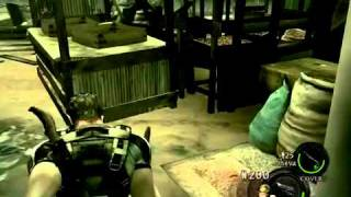my beastly resident evil 5 gameplay wii