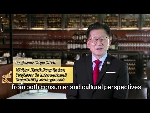 Prof. Kaye Chon, Walter Kwok Foundation Professor in International Hospitality Management