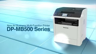 Panasonic New Multi-Function Printer DP-MB500 Series