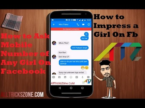 How To Propose A Girl On Facebook Whatsapp And Ask Mobile Number