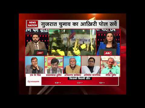 News Nation Ground Zero Poll survey: BJP to retain power in Gujarat?