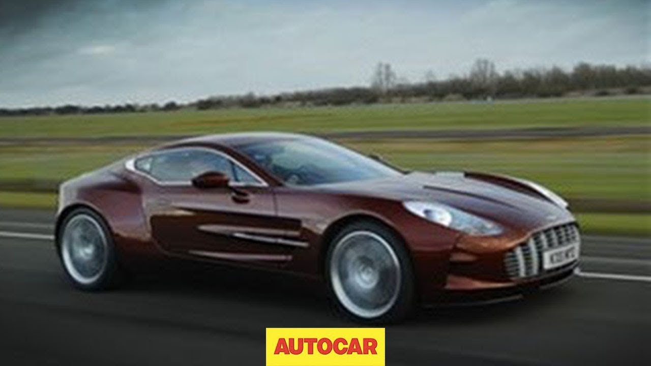 Aston Martin One-77 exclusive video