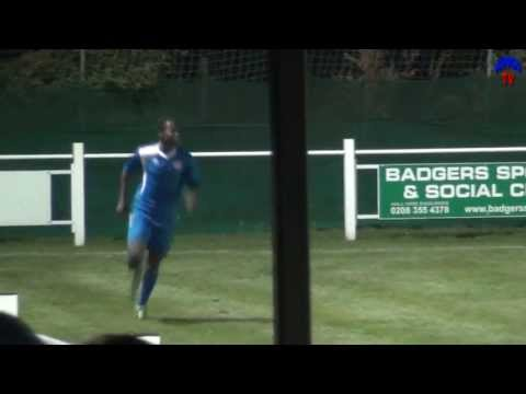 WingsTV Freeview Erith Town 0-2 Welling United U21s London Senior Cup 2013-14 October 1st 2013