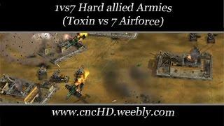 [C&C Zero Hour] 1vs7 - Toxin vs 7 Hard Airforce