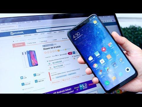Xiaomi Mi 8, Harga Makin TURUN Makin SIP - Rekomendasi Saat Ini!
