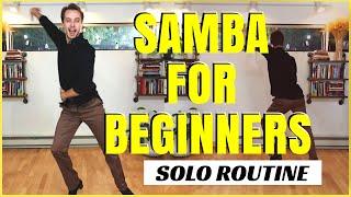 Samba Solo Routine For Beginners. Mini Cardio Workout