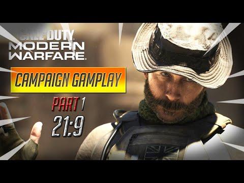 Call Of Duty Modern Warfare Campaign Gameplay