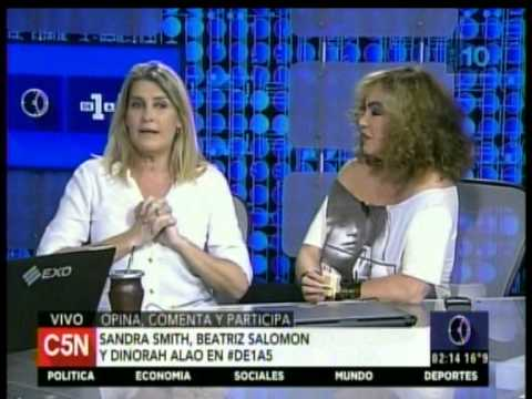 C5N - DE1A5: ENTREVISTA A SANDRA SMITH Y BEATRIZ SALOMON