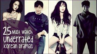 25 Must Watch Underrated Korean Dramas