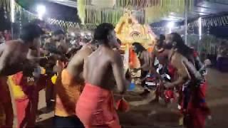 അയ്യപ്പൻ വിളക്ക് എഴുന്നെളളിപ്പ് -ഉടുക്ക് പാട്ട്  Ayyappan Vilakku Udukku Pattu Ottapalam Mulanjur