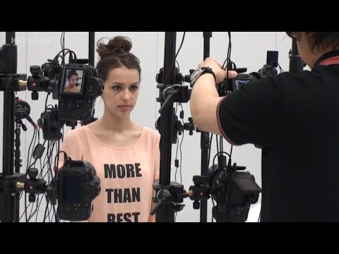 Character making - Stefanie Joosten as Quiet (3D Scan and Motion Capture) - MGSV (ESRB)