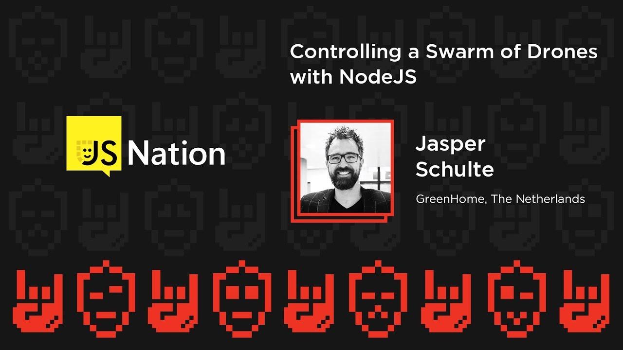 Controlling a swarm of drones with NodeJS – Jasper Schulte