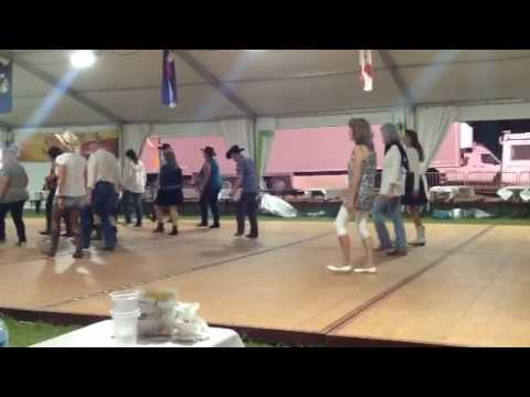 P3 -  Country line dance