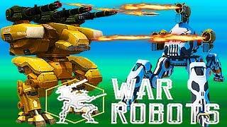 Hatasha  Rhino LEO Griffin в War Robots - БИТВА РОБОТОВ # 33 Видео для детей как мультик.