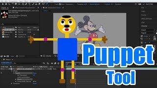 #Ae-26 Animation mit dem Marionetten-Werkzeug in Adobe After Effects [in HINDI]