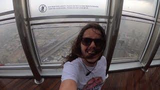 temporale sul grattacielo più alto del mondo