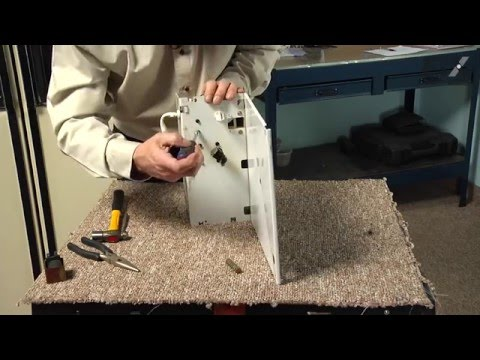 GE Refrigerator Repair – How to replace the Crushed/Cubed Ice Solenoid Kit