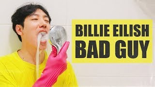 making Billie Eilish's BAD GUY with Rubber Gloves