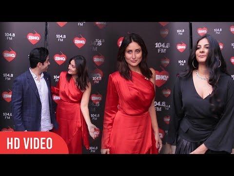 Kareena Kapoor Khan, Tusshar Kapoor And Rhea Kapoor Spotted Together At ISHQ 104.8 FM Mp3