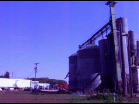 Grain Bin Falling