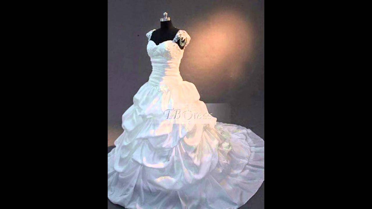 Cheap Plus Size Wedding Dresses, Unique Affordable Big