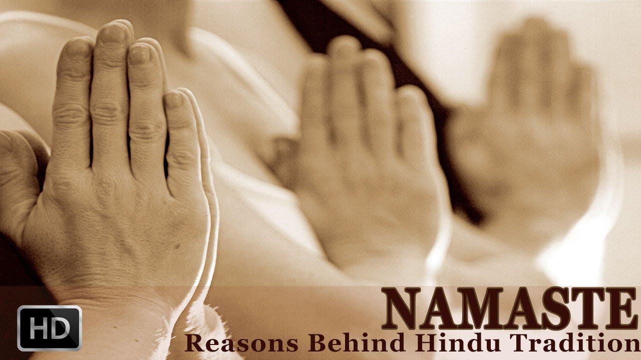 Namaste - The Real Meaning of Namaskar - Why do Hindus Greet ...