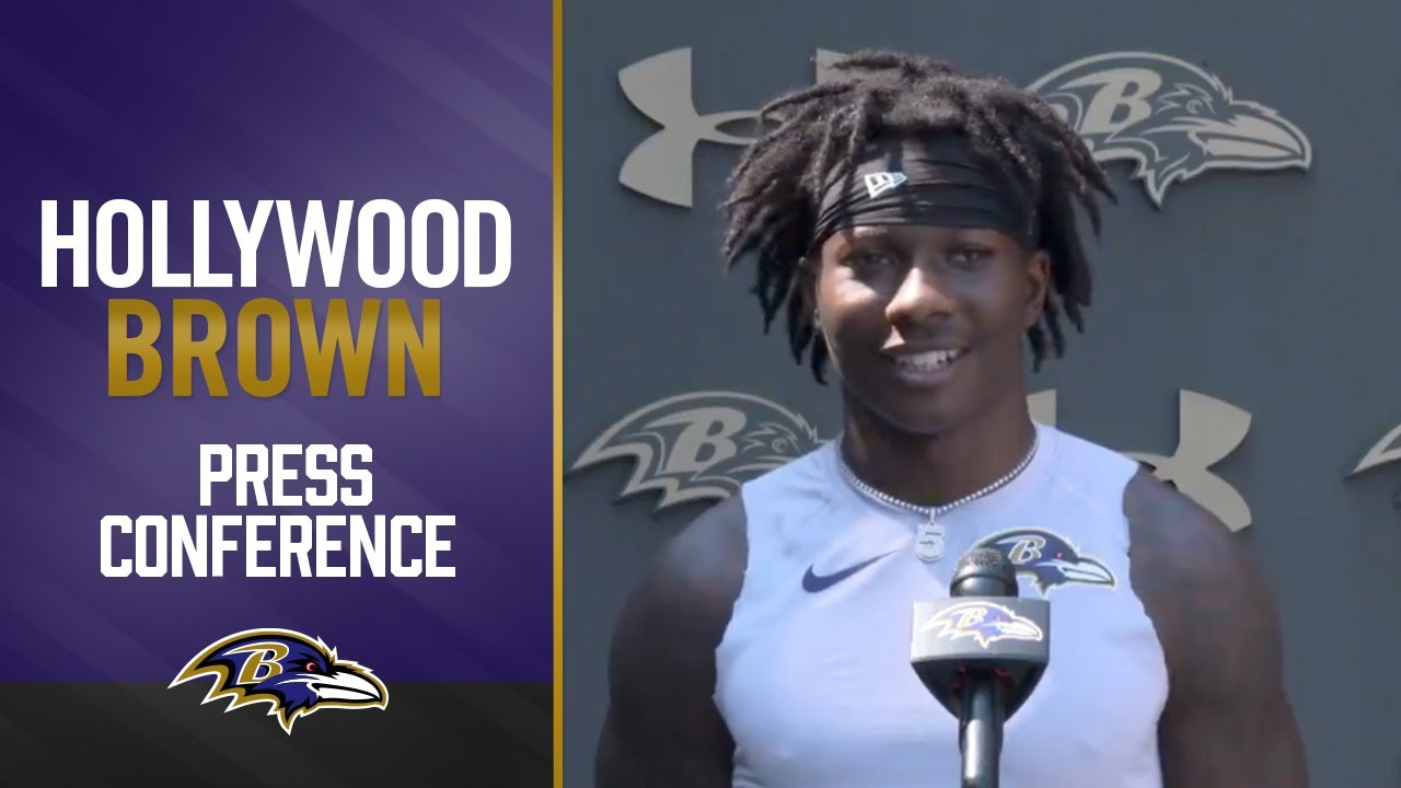 Download Hollywood Brown Happy to Be Back | Baltimore Ravens