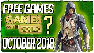 XBOX Games with Gold October 2018 Predictions / XBOX October 2018 Lineup