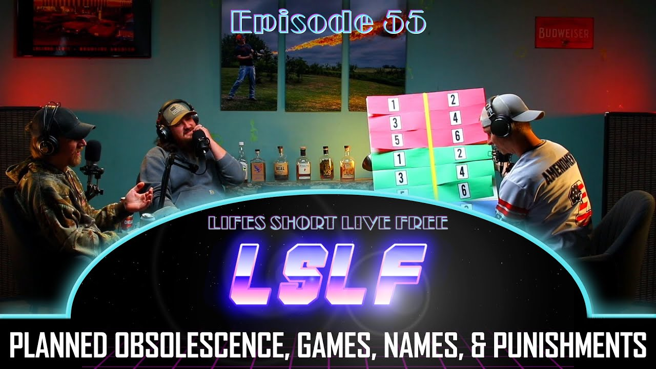 LSLF Podcast #55 - Supporting Gun Rights vs. Cops, Battle of the Joshes, and Planned Obsolescence