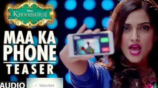 Maa Ka Phone Lyrics from Khoobsurat (2014): The song is sung by Priya Panchal & Mouli Dave and compo Images