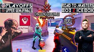 WINNER TO UPPER FINAL! SËN vs 100T   BO3 2 Icebox   NA Challengers Finals   VODS Valorant Mundi