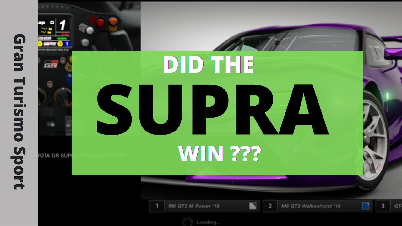 Moni Gaming - Gran Turismo - Did the SUPRA win or not ?? Watch the video to find out