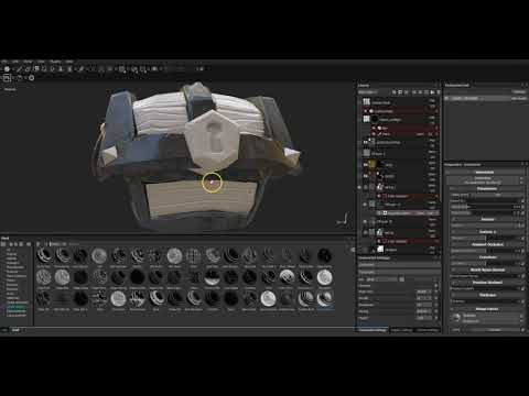 02  Stylised Texturing in Substance Painter: Metal