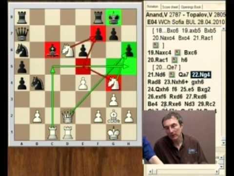 Anand vs Topalov 4 (partie Catalane, Sofia 2010) - World Chess Championship 2010