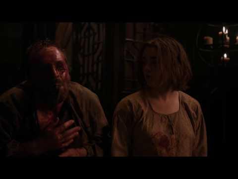 Arya stark kills Meryn Trant Game of thrones s05e10 hd