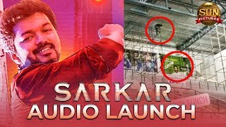 EXCLUSIVE: SARKAR Audio Launch Venue Exclusive Details | Thalapathy Vijay