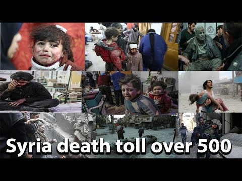 Syria death toll over 500 as eastern Ghouta bombing continues || World News Radio