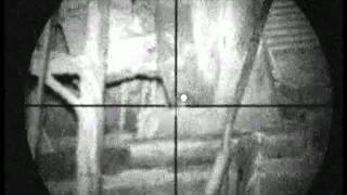 Pig Farm Rat hunting 10 using an Air Arms S410k air rifle and a Nitesite NS200