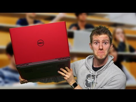 Serious Gaming Laptop for $800 - Dell Inspiron Gaming 15 2017