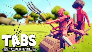 CRAZY BIKERS and a New SECRET UNITS - Totally Accurate Battle Simulator (TABS)