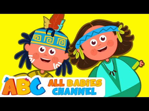 Ten Little Indians | Nursery Rhymes for Children | Kids Songs | All Babies Channel