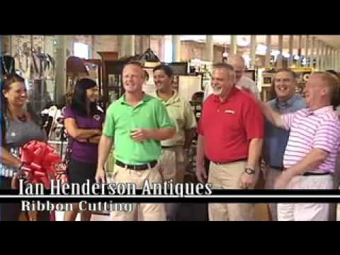 Ribbon Cutting Ian Henderson Antiques