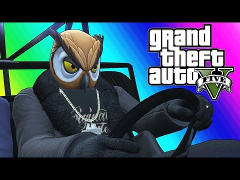 Thumbnail: GTA 5 Online Funny Moments - Epic Rocket Car Stunts!