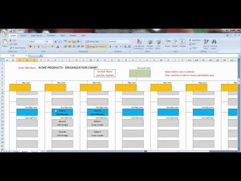excel-organization-chart-template-demonstration
