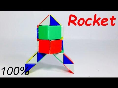 RUBIK'S SNAKE PATTERNS ROCKET