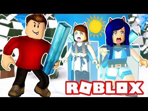 FREEZING EVERYONE IN ROBLOX! | Roblox Icebreakers
