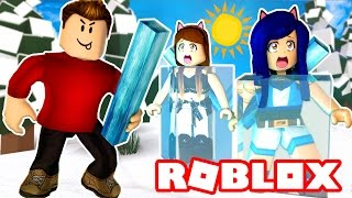 FREEZING EVERYONE IN ROBLOX! | Roblox Icebreakers