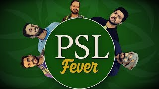 PSL Fever | Pakistan Super League |The Idiotz | Funny Sketch