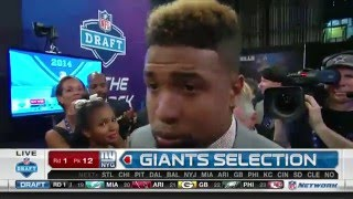 flashback friday: Giants Select Odell Beckham Jr. with No. 12 pick ...